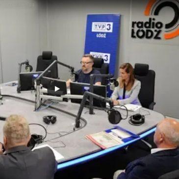 Debata kandydatów na burmistrza miasta Łowicza w Radio Łódź